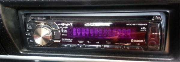 Kenwood KDC-BT752HD Bluetooth Through the Front Speakers